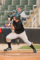 Casey Craig (32) of the Savannah Sand Gnats follows through on his swing at Fieldcrest Cannon Stadium in Kannapolis, NC, Sunday July 20, 2008. (Photo by Brian Westerholt / Four Seam Images)