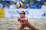 Megumi Murakami (JPN),.MAY 4, 2012 - Beach Volleyball : JBV Tour 2012 Sports Club NAS Open at Odaiba Beach, Tokyo, Japan. (Photo by Jun Tsukida/AFLO SPORT) [0003].