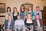 Party Time : Staff of Datbreak Supermarket, Liselton enjoying their Christmas party at the Listowel Arms Hotel on Friday night last. Front : Ross Warwick, Robert Ryan, Mairead Ryan & Tommy Moore, Back : Martina Kennelly, Mauta Kissane, Deidre Sheehy, Maureen Flavin & Kathleen Carroll.