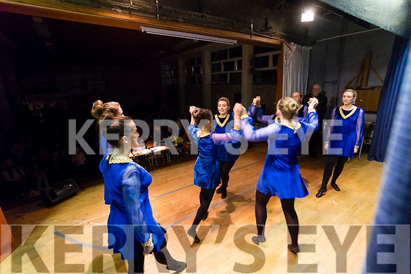 Glenflesk Figure Dancers performing at the Scor Sinsear county finals at Mhuire Gan Smal, Castleisland on Saturday night.