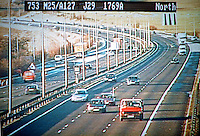 Image from a police motorway traffic CCTV camera. This image may only be used to portray the subject in a positive manner..©shoutpictures.com..john@shoutpictures.com