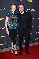 """LOS ANGELES - AUG 15:  Elaine Hendrix, Nick Richey at the """"Low Low"""" Los Angeles Premiere at the ArcLight Hollywood on August 15, 2019 in Los Angeles, CA"""