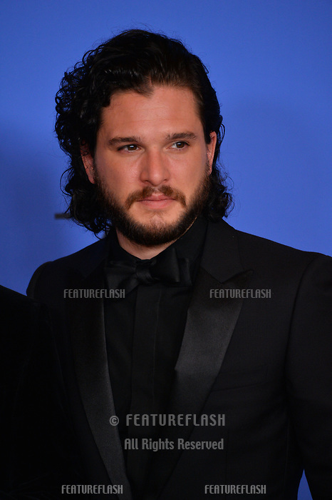 Kit Harington at the 75th Annual Golden Globe Awards at the Beverly Hilton Hotel, Beverly Hills, USA 07 Jan. 2018<br /> Picture: Paul Smith/Featureflash/SilverHub 0208 004 5359 sales@silverhubmedia.com