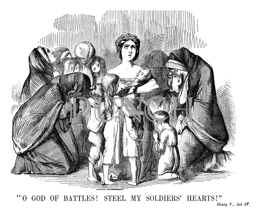 """""""O God of Battles! Steel my Soldiers' Hearts!"""" Henry V, Act IV."""