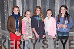 """The Cube: Attending """"The Cube """"  game show organized by Listowel Ladies GAA at the Listowel Arms Hotel on Saturday night last were Emma Browne, Grace Guiney, Aoife Murphy, Valerie Guiney & Hannah Healy."""