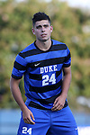 21 August 2015: Duke's Brian White. The Duke University Blue Devils hosted the University of North Carolina Charlotte 49ers at Koskinen Stadium in Durham, NC in a 2015 NCAA Division I Men's Soccer preseason exhibition. The game ended in a 1-1 tie.