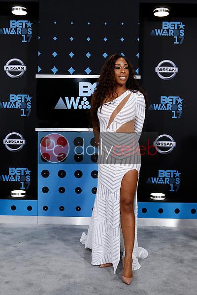 Dianna Williams<br /> at the BET Awards 2017, Microsoft Theater, Los Angeles, CA 06-25-17<br /> David Edwards/DailyCeleb.com 818-249-4998