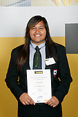 Girls Softball winner Stevie Hamiora. ASB College Sport Young Sportperson of the Year Awards 2007 held at Eden Park on November 15th, 2007.