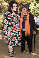PALM SPRINGS, CA - JANUARY 05: Melissa McCarthy, Kaye Ballard arriving at Variety's Creative Impact Awards And 10 Directors to Watch Brunch during the 25th Annual Palm Springs International Film Festival held at Parker Palm Springs on January 5, 2014 in Palm Springs, California. (Photo by Xavier Collin/Celebrity Monitor)