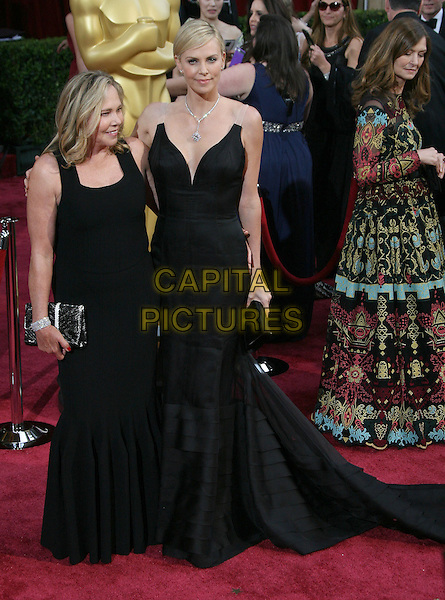 02 March 2014 - Hollywood, California - Charlize Theron, Gerda Maritz. 86th Annual Academy Awards held at the Dolby Theatre at Hollywood &amp; Highland Center. <br /> CAP/ADM<br /> &copy;AdMedia/Capital Pictures