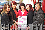 Pictured launching a Fashion show which takes place in the Brandon hotel on the 19th of October. From left: Eileen Whelan, Treacy O'Sullivan Helen O'Sullivan, Lorraine Williams and Elizabeth Akinyemi.