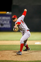 Jeff Dietz  -  Visalia Rawhide playing against the Modesto Nuts at John Thurman Field, Modesto, CA - 05/19/2009.Photo by:  Bill Mitchell/Four Seam Images