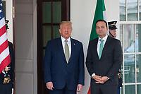 Donald Trump Meets Prime Minister Leo Varadkar of Ireland