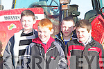 DAYOUT: A day out at the Ardfert Ploughing Competition on Sunday l-r: Daniel Dwyer,Brandon Barrett,Brian Cantillon and Jamie Donigan(Causeway).   Copyright Kerry's Eye 2008
