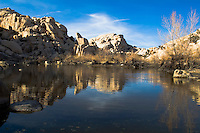 Barker Dam in Joshua Tree National Park, winter 2007