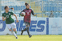 20190306 - LARNACA , CYPRUS : Mexican goalkeeper Alejandria Godinez (12) pictured during a women's soccer game between Czech Republic and Mexico , on Wednesday 6 March 2019  at the Antonis Papadopoulos Stadium in Larnaca , Cyprus . . This last game for both teams which decides for places 5 and 6 of the Cyprus Womens Cup 2019 , a prestigious women soccer tournament as a preparation on the Uefa Women's Euro 2021 qualification duels. PHOTO SPORTPIX.BE | STIJN AUDOOREN