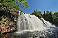 Waterfall on Mink Creek<br /> 10 kms West of Marathon<br /> Ontario<br /> Canada
