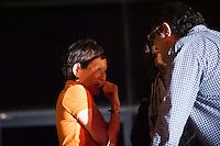 SAO PAULO, SP, 15.11.2013 - MENSALAO/PRISAO/ <br /> - A esposa do ex deputado Jose Genuino e do ex ministro Jose Dirceu sao vistos na sede da Polícia Federal de São Paulo no bairro da Lapa de Baixo, zona oeste da capital paulista, na tarde desta sexta-feira. O Supremo Tribunal Federal (STF) expediu hoje o mandado de prisão. (Foto: Adriano Lima / Brazil Photo Press).