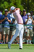Justin Thomas (USA) watches his tee shot on 10 during round 1 of the 2019 Tour Championship, East Lake Golf Course, Atlanta, Georgia, USA. 8/22/2019.<br /> Picture Ken Murray / Golffile.ie<br /> <br /> All photo usage must carry mandatory copyright credit (© Golffile | Ken Murray)