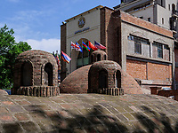 Tiflis Palace im Bäderviertel Abanotubani, Tiflis – Tbilissi, Georgien, EuropaTiflis Palace in thermal quarter Abanotuban, Tbilisi, Georgia, Europe