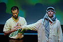 Manifest Destiny ,music by Keith Berstein,words by Dick Edwards .With  Carey Jones,Peter Furlong.Performing at Assembly at St Georges West at the Edinburgh Festival 2005.CREDIT Geraint Lewis