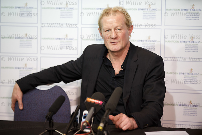 Colin Hendry at Hampden