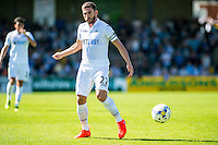 Angel Rangel of Swansea City in action during the Pre Season friendly match between Swansea City and Rovers played at the Memorial Stadium, Bristol on July 23rd 2016