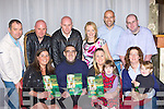 3777-3785.Jimmy O'Sullivan-Darcy author of Forged in Green and Gold 125 Year of Kerry GAA with his family at the launch of his book in the Gleneagle hotel, Killarney on Saturday night front row l-r: Miriam, Jimmy, Meadh, Joanne and Rachel. Back row: John, Brendan, Cieran, Caroline, Brian and Kevin
