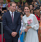 """CATHERINE, DUCHESS OF CAMBRIDGE AND PRINCE WILLIAM.attend Cultural Event, Central Park, Kuala Lumpur_14/09/2012.Mandatory credit photo: ©JR Pool/DIASIMAGES..""""""""NO UK USE FOR 28 DAYS UNTIL 13TH OCTOBER 2012""""..(Failure to credit will incur a surcharge of 100% of reproduction fees)..                **ALL FEES PAYABLE TO: """"NEWSPIX INTERNATIONAL""""**..IMMEDIATE CONFIRMATION OF USAGE REQUIRED:.DiasImages, 31a Chinnery Hill, Bishop's Stortford, ENGLAND CM23 3PS.Tel:+441279 324672  ; Fax: +441279656877.Mobile:  07775681153.e-mail: info@newspixinternational.co.uk"""