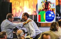 SAO PAULO, SP, 20 FEVEREIRO 2013 - 10 ANOS DO PT NO GOVERNO DEMOCRATICO E POLULAR - durante evento de 10 anos do PT (Partido dos Trabalhadores) no Governo Democrático e Popular na regiao norte da cidade de Sao Paulo. O evento do PT é o lançamento de uma série de seminários temáticos organizados pelo partidoem parceria com o Instituto Lula ea Fundação Perseu Abramo, para comemorar eavaliar os 10 anos de governo desde a posse de Lula, em 2003. FOTO: WILLIAM VOLCOV - BRAZIL PHOTO PRESS