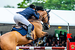 Day 4. Royal Windsor Horse Show. Windsor. Berkshire. UK. Showjumping. Kingdom of Bahrain Stakes for the Kings Cup. Robert Whitaker riding Catwalk IV. GBR. 2nd place.12/05/2018. ~ MANDATORY Credit Elli Birch/Sportinpictures - NO UNAUTHORISED USE - 07837 394578