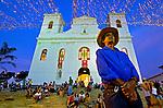 Igreja Matriz de Sao Luiz de Tolosa na Festa do divino em Sao Luis do Paraitinga. Sao Paulo. 2014. Foto de Levi Bianco.