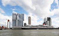 Nederland  Rotterdam - 2017.  Cruiseschip Queen Elizabeth ligt aan de Wilhelminapier.  Foto Berlinda van Dam / Hollandse Hoogte