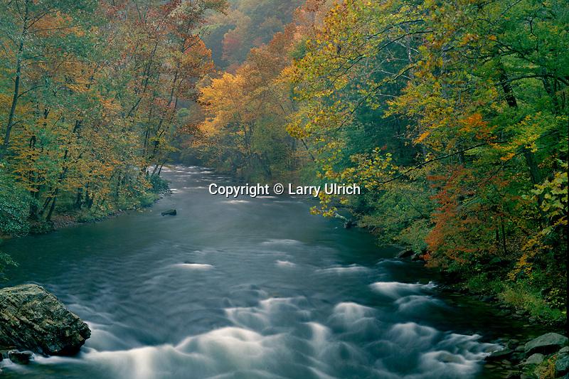 Nantahala River<br /> Nantahala River Gorge <br /> Nantahala National Forest<br /> North Carolina