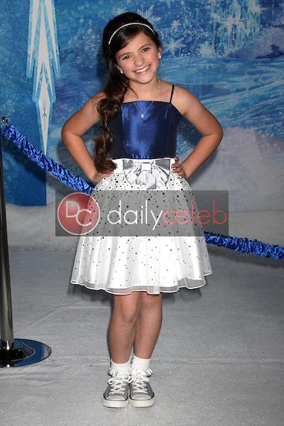 Eva Bella<br /> at the &quot;Frozen&quot; Los Angeles Premiere, El Capitan, Hollywood, CA 11-19-13<br /> David Edwards/DailyCeleb.Com 818-249-4998
