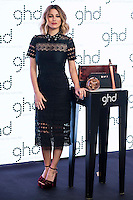 Spanish actress Blanca Suarez during the presentation of the new christmas campaign of GHD at Palacio de Neptuno in Madrid. October 25, 2016. (ALTERPHOTOS/Borja B.Hojas) /NORTEPHOTO.COM