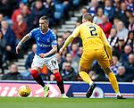 14.09.2019 Rangers v Livingston: Ryan Kent and Nicky Devlin