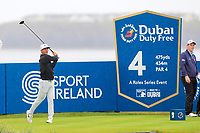 Thorbjorn Olesen (DEN) on the 4th tee during the 3rd round of the Dubai Duty Free Irish Open, Lahinch Golf Club, Lahinch, Co. Clare, Ireland. 06/07/2019<br /> Picture: Golffile | Thos Caffrey<br /> <br /> <br /> All photo usage must carry mandatory copyright credit (© Golffile | Thos Caffrey)