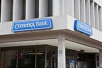 A Comerica Bank branch is seen in Detroit (Mi) Sunday June 9, 2013.