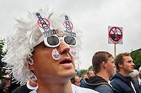 Nederland, Boxtel, 14 sept  2013<br /> Manifesatie tegen schaliegas proefboringen in  Boxtel. Tegenstander van schaliegas<br /> Foto(c): Michiel Wijnbergh