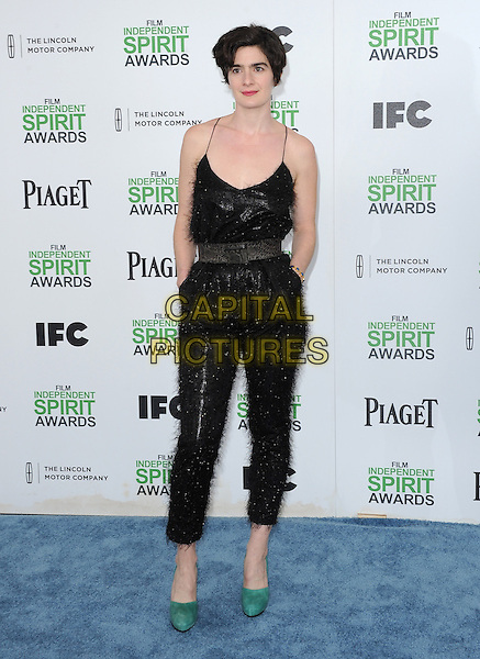 SANTA MONICA, CA, MARCH 01: Gaby Hoffmann at The 2014 Film Independent Spirit Awards held at Santa Monica Beach in Santa Monica, California, USA on March 1st, 2014.                                                                              <br /> CAP/DVS<br /> &copy;Debbie VanStory/Capital Pictures