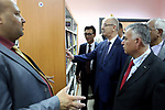 Palestinian Prime Minister Rami Hamdallah opens the Palestinian-Korean Youth Center, in the West Bank city of Jenin on Aug. 04, 2018. Photo by Prime Minister Office