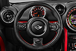 Car pictures of steering wheel view of a 2016 MINI Countryman JCW 5 Door Hatchback Steering Wheel