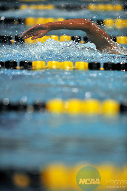 15 MAR 2008:  Kristen Frost of Southern CT State University competes in the 1650 yard freestyle during the Division II Swimming and Diving Championship held at the Mizzou Aquatic Center in Columbia, MO.  Frost swam a 16:17.66 time to break a 21 year-old record set on March 14, 1987 and to win the national title..John Tully/NCAA Photos