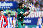 Deportivo Alaves's Fernando Pacheco during the match of La Liga Santander between Atletico de Madrid and Deportivo Alaves at Vicente Calderon Stadium. August 21, 2016. (ALTERPHOTOS/Rodrigo Jimenez)