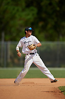 Sebastian Murillo during the WWBA World Championship at the Roger Dean Complex on October 20, 2018 in Jupiter, Florida.  Sebastian Murillo is a shortstop from Huntington Beach, California who attends Fountain Valley High School and is committed to Arizona.  (Mike Janes/Four Seam Images)