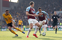 Burnley's Dwight McNeil sets himself to strike and score his side's second goal <br /> <br /> Photographer Rich Linley/CameraSport<br /> <br /> The Premier League - Burnley v Wolverhampton Wanderers - Saturday 30th March 2019 - Turf Moor - Burnley<br /> <br /> World Copyright © 2019 CameraSport. All rights reserved. 43 Linden Ave. Countesthorpe. Leicester. England. LE8 5PG - Tel: +44 (0) 116 277 4147 - admin@camerasport.com - www.camerasport.com
