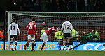 Wayne Rooney of Manchester United scores the third goal from the penalty spot - FA Cup Fifth Round - Preston North End  vs Manchester Utd  - Deepdale Stadium - Preston - England - 16th February 2015 - Picture Simon Bellis/Sportimage