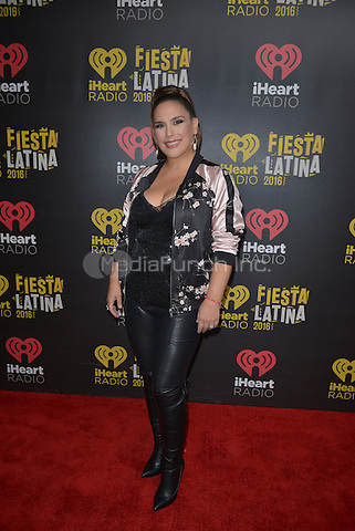 MIAMI, FL - NOVEMBER 05: Angelica Vale attends iHeartRadio Fiesta Latina at American Airlines Arena on November 5, 2016 in Miami, Florida.Credit: MPI10 / MediaPunch