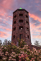 """Enger Tower in Bloom""<br />